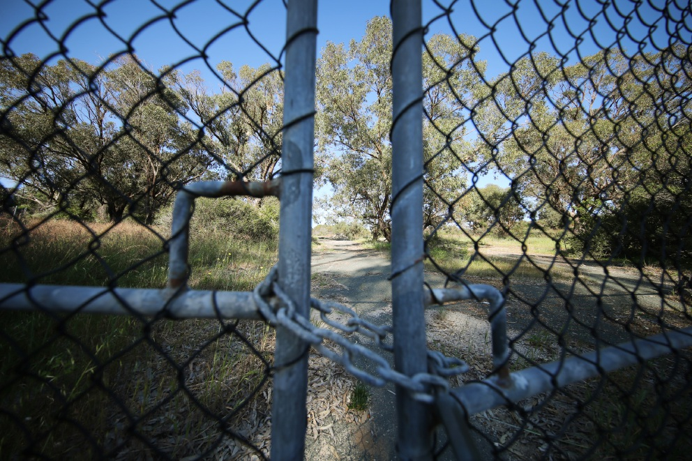 Locked out... the Education Department is facing questions about why it delayed planning for a new school in the western suburbs.        d444462