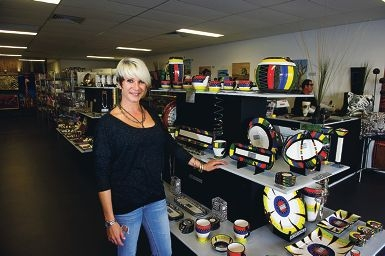 Kim Draper has opened African Roots in Jindalee, selling African good and gifts.