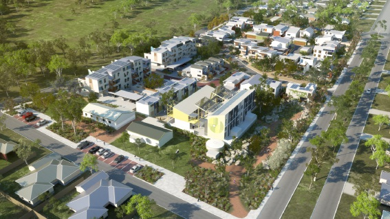 The WGV residential development continues to attract plaudits.