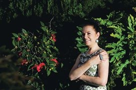 Menora resident and jewellery designer Donna Read. Picture: Marcus Whisson d405133