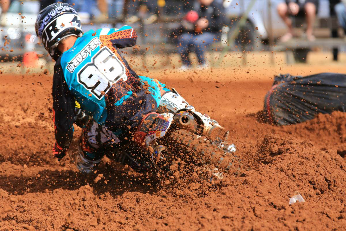 Kyle Webster is among the WA riders at the MX Nationals at Wanneroo Park this weekend.