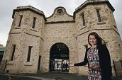 Maia Frewer, Fremantle Prison's Visitors Services Manager. d404136