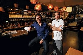 Nolita owner Michael De Marte with head chef Jason Walker. Picture: Andrew Ritchie www.communitypix.com.au d404434