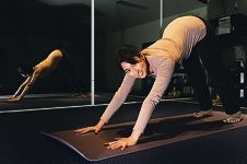 Migraine sufferer Melissa O'Shea finds exercise helps her to live with pain. Picture: Marcus Whisson d404689