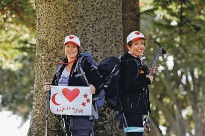 Moira Clay and Karin Smith.