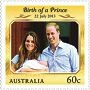 Royal baby stamp of approval
