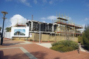 The GP Super Clinic being built in Wanneroo is a result of Federal funding. Picture: Emma Reeves