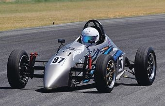 Jayden Tonaro lies second overall in this year's Formula Vee challenge.