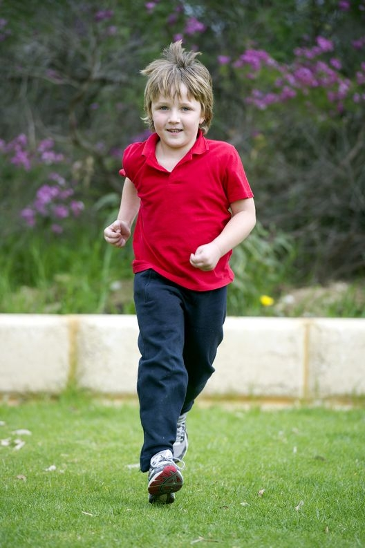 Quinns Rocks Primary School's Year 1 student Joshua Vernon is running in Relay for Life to raise funds for the Cancer Council.
