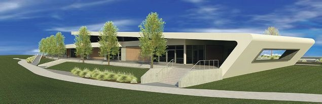 An artist's impression of the Northern Community Building.