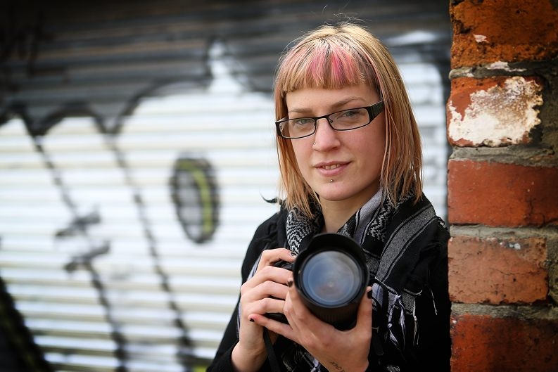 Natalie Blom will exhibit the best of her images. Picture: Andrew Ritchie
