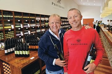Co-owners Patrick Coward and Martin Black .Picture: Elle Borgward d405095
