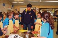 Andrew Embley visits Comet Bay