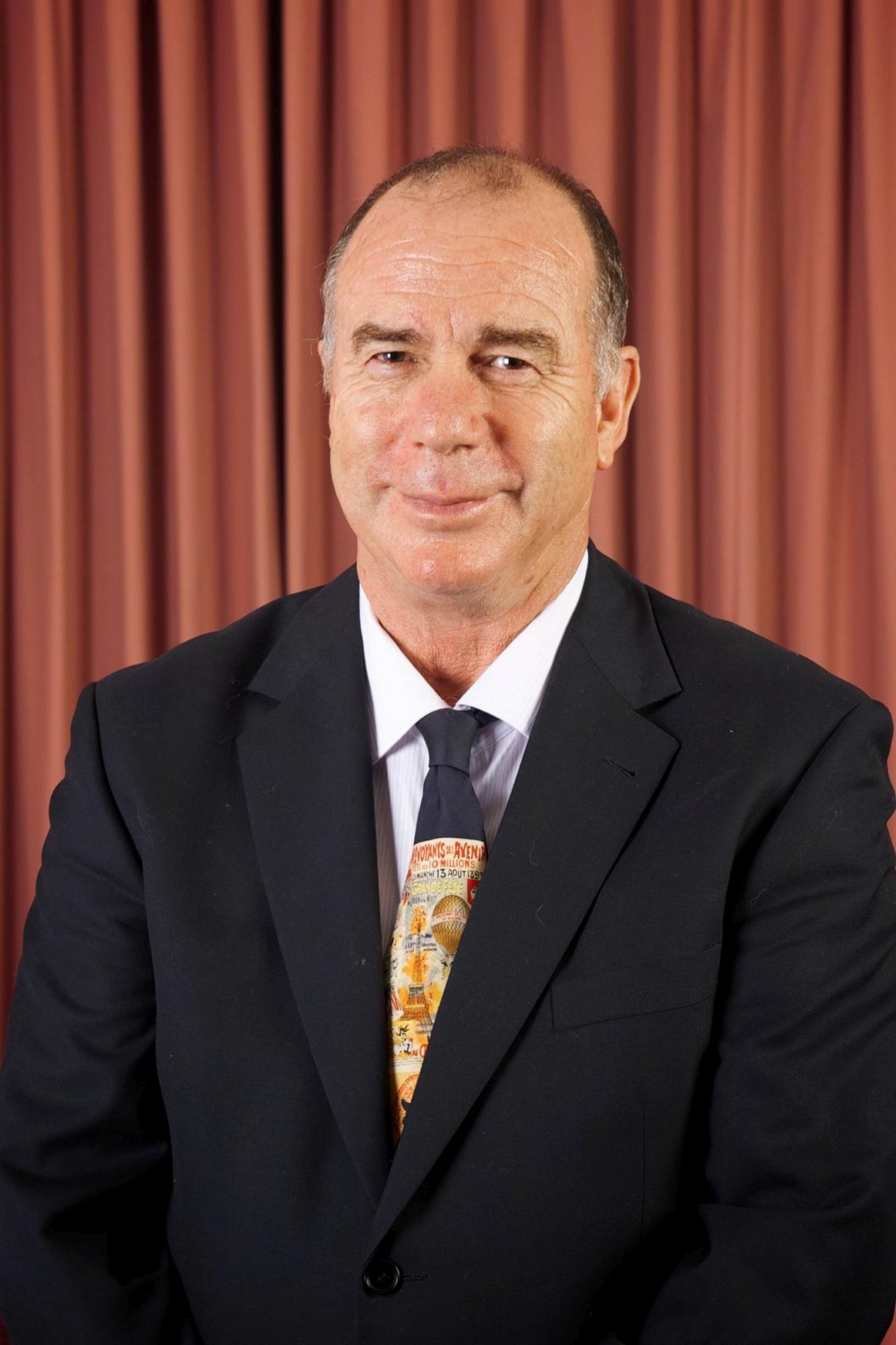 Serpentine-Jarradale Shire President Bruce Moore.