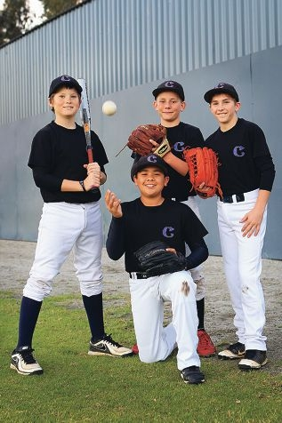 Michael Tovey (Canning Vale), Luke Houston (Southern River), Dylan Walsh (Canning Vale) and Caydyn Hancock (Mundijong) are gearing up to take part in the World Series.