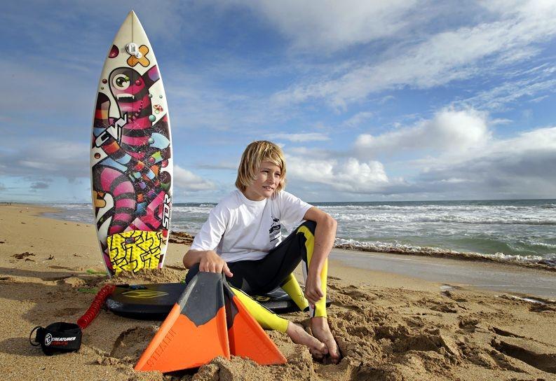 Brad Harrington is back on the water. Picture: Elle Borgward www.communitypix.com.au d405330