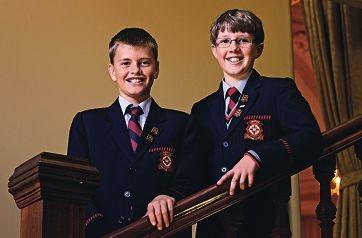 Aquinas College students Patrick Lorraine and William Dundas.d405198