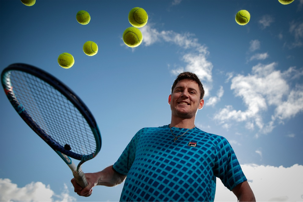 Matthew Ebden has been made an honorary member of Wembley Downs |Tennis Club. Picture: Andrew Ritchie   d454553