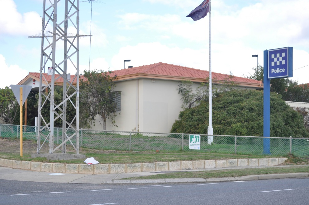The Cockburn police station on Rockingham Road.