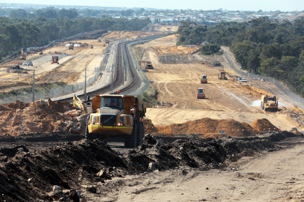Train services cancelled for Mitchell Freeway extension works