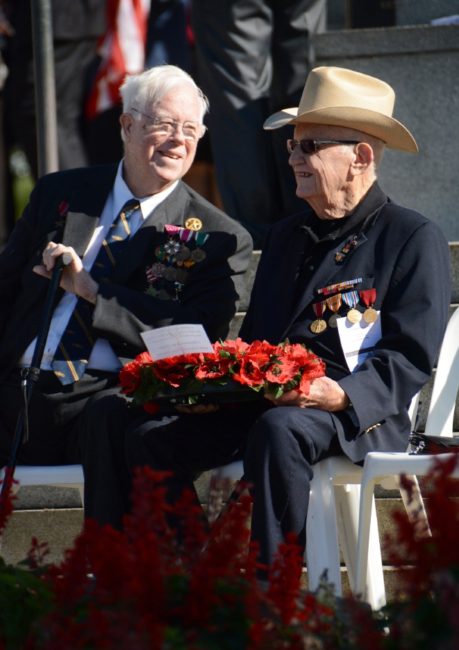 Memorial Day: Woodlands resident and US World War II veteran Jack Fletcher honoured