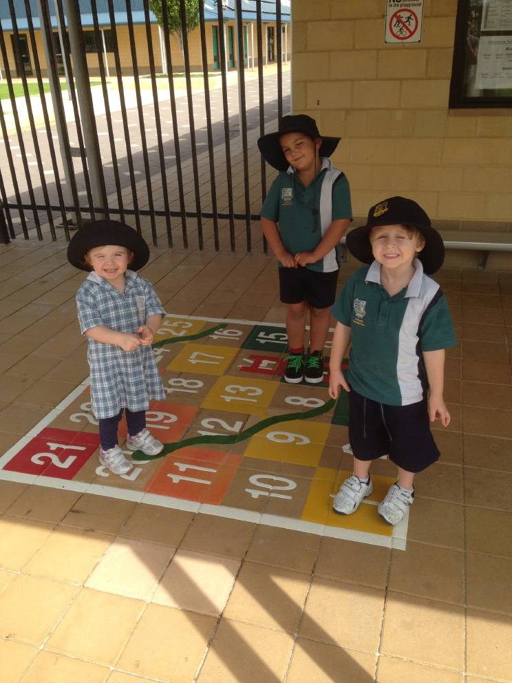 Two Rocks Primary School adds colourful lesson tools to playground