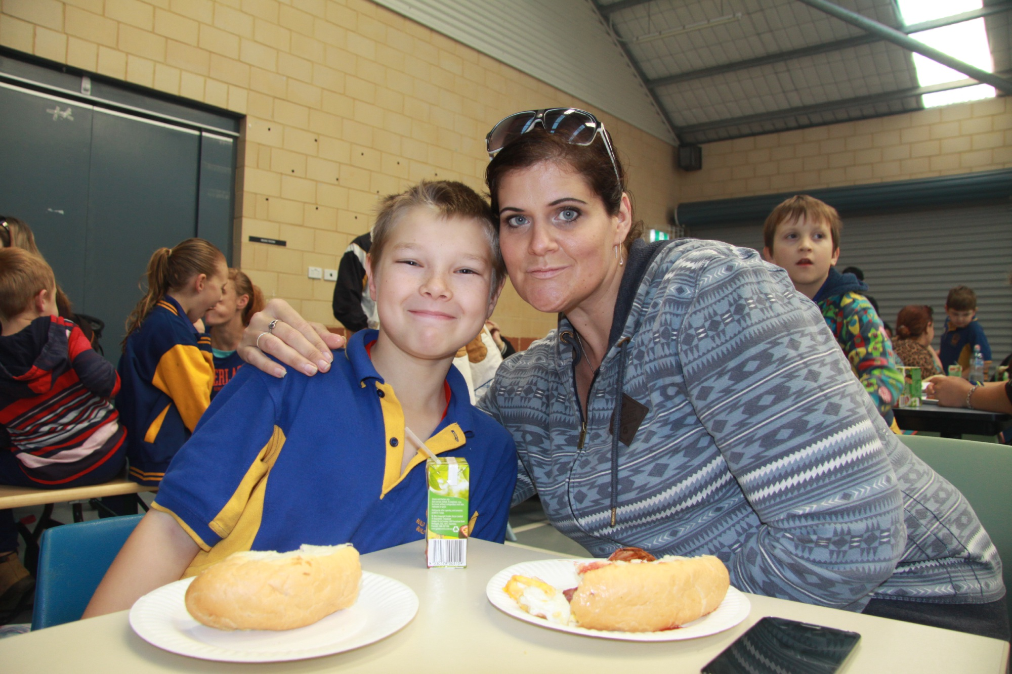 Kwinana primary schools take part in National Walk to School Day.