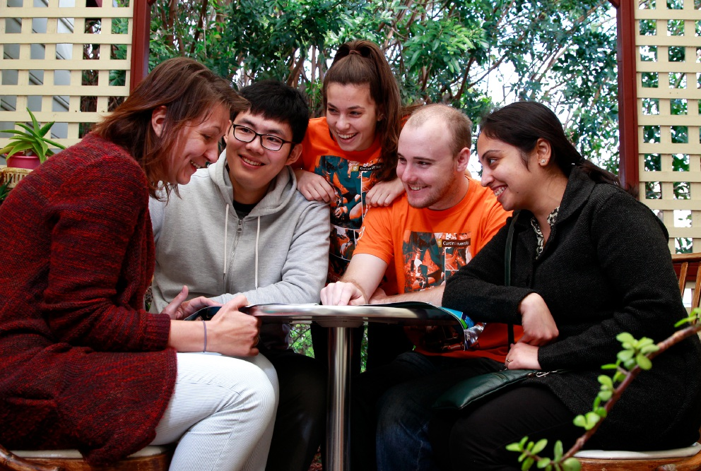 Curtin Volunteers ensure the conversation classes are fun and interactive.