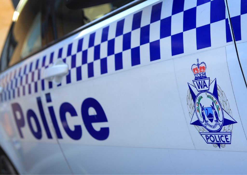 Police have arrested a man behaving suspiciously around Amaroo Village.