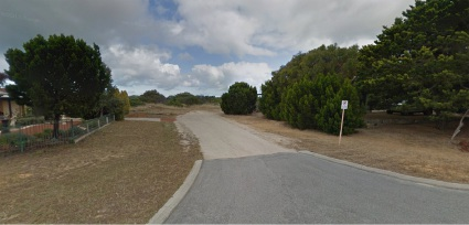 Part of the road reserve off Moorpark Avenue. Picture: Google