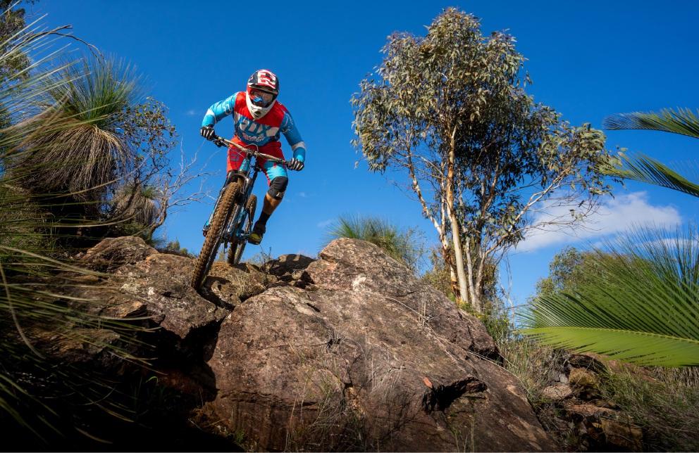 Fierce mountain bike action this weeked in WA Gravity Enduro