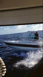 Two Rockingham men went missing off Coral Bay.