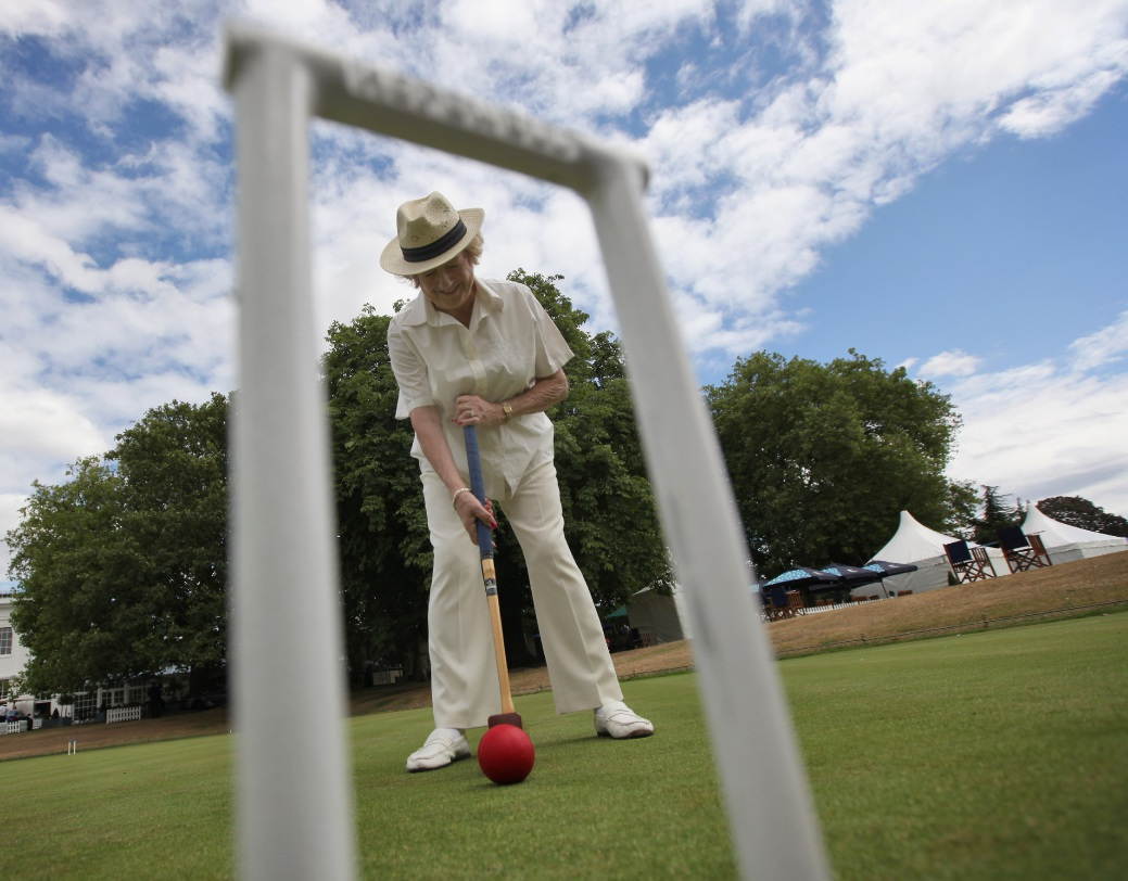 Find out if croquet is your cup of tea by having a go at the Cambridge Croquet Club.