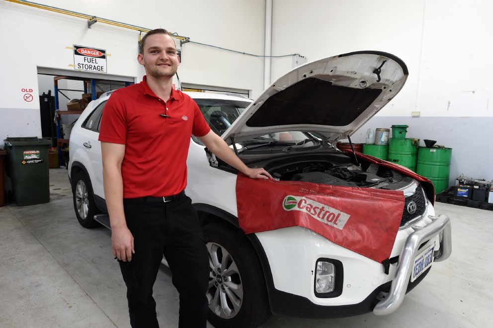 Byford's Josh Tobiassen is waiting on the results of his recent World Skills Cup effort. Picture: Jon Hewson. d455028