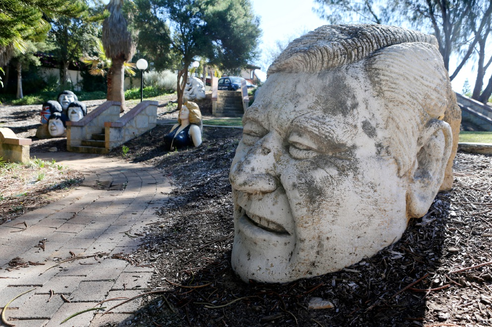 The Mark Le Buse sculptures at Club Capricorn will be protected during the demolition work.