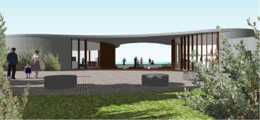 Artist's impressions of coastal defence museum at Peron Point unveiled