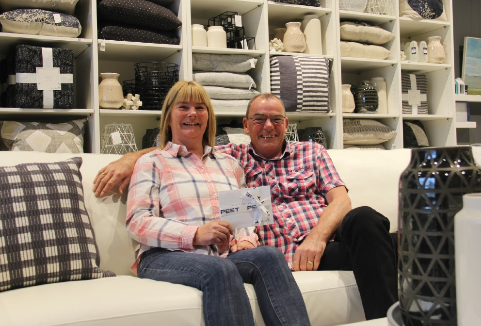 David and Joan Kerr have won a $15,000 prize.