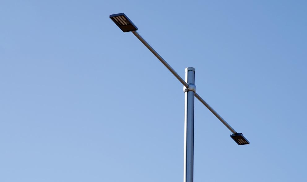 New street light poles for Joondalup Drive in CBD