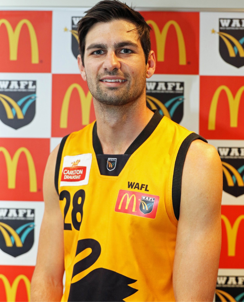 Swan Districts player Tony Notte.