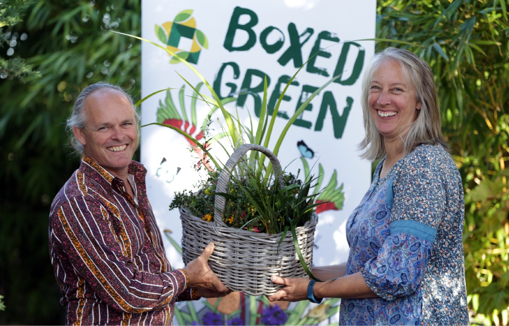 Graeme Mitchell and Sue Dempster are on a mission to create 1000 sustainable home gardens.