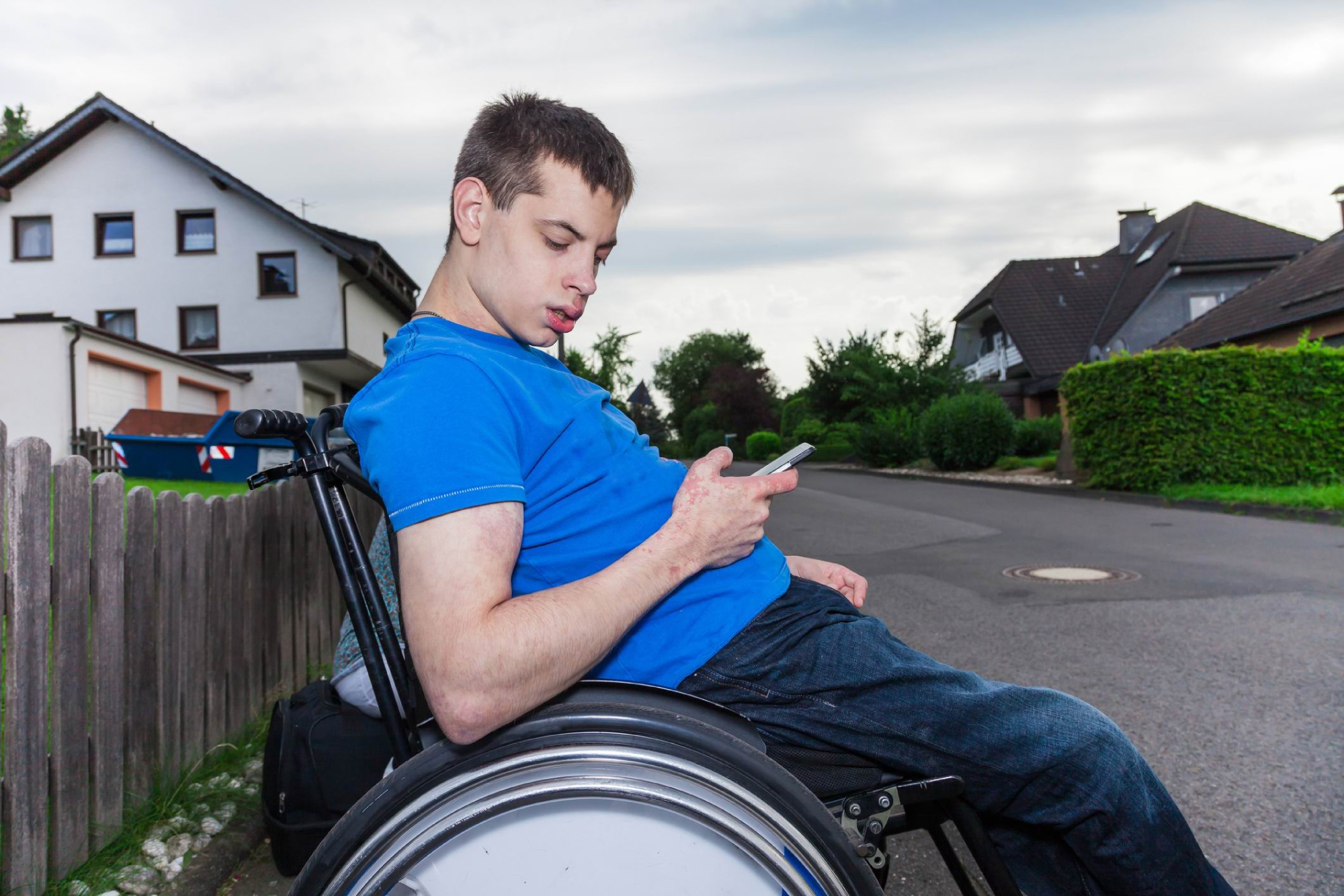 Smartphones are now key in helping people with disabilities navigate.