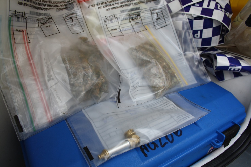 Police operation in CBD nabs drugs and information about dealers in area