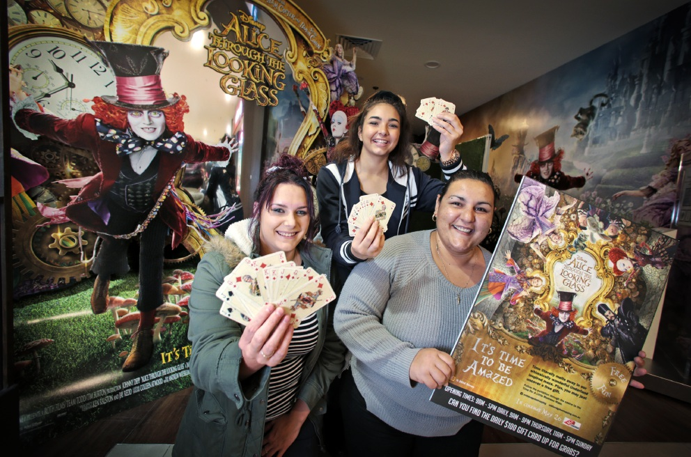 New film Alice Through the Looking Glass has inspired Midland Gate Ace Cinemas to create a maze