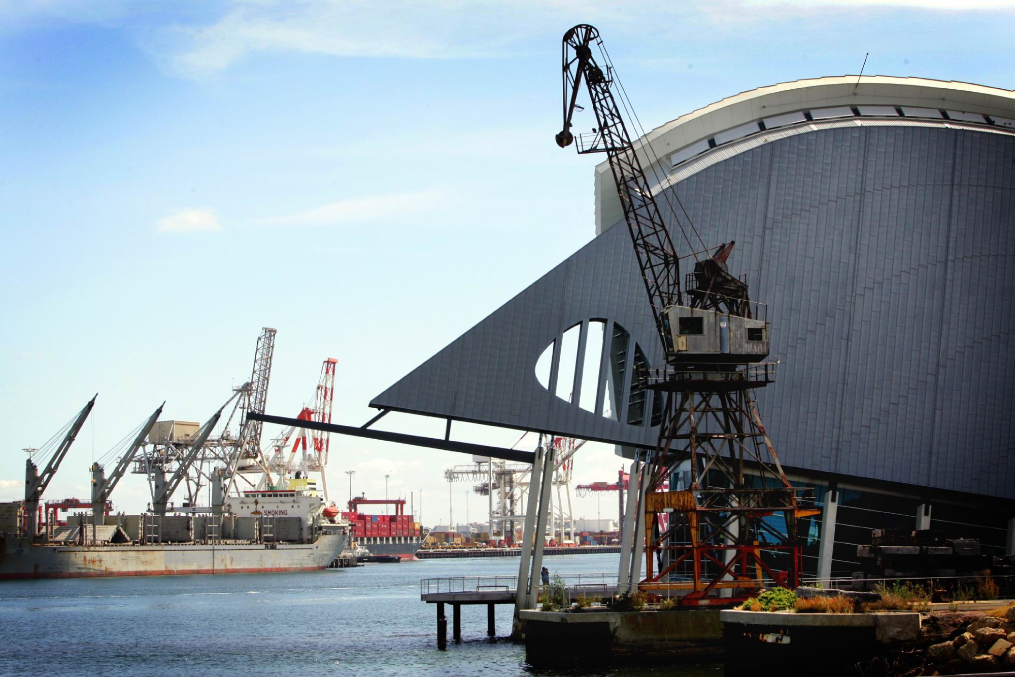 A bill for the lease of Fremantle Port has gone before parliament.