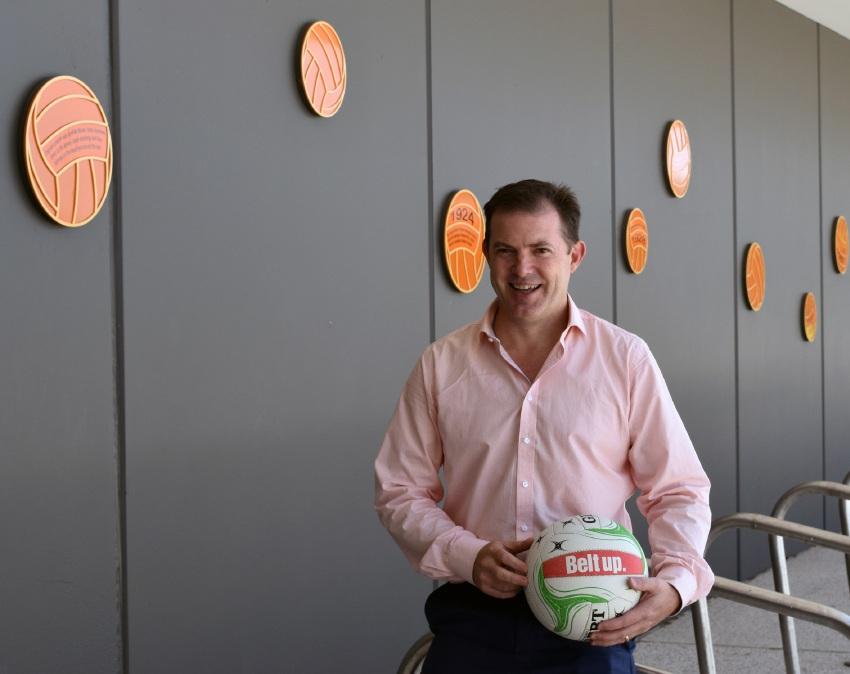 Netball WA chief executive Simon Taylor.