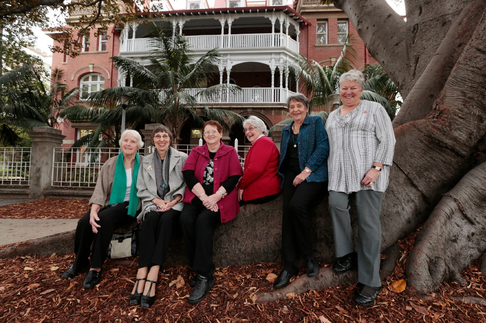 Wendy Cowie (Willetton), Jan Outtrim-Keegan (Dianella), Val Martin (Quinns Rock), Helen Ottaway (Mt Pleasant), Margaret Baker (Lynwood) and Jill O'Donnell (Canningvale).