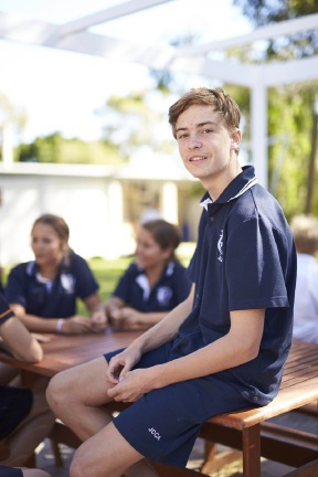 John Curtin College of the Arts Year 10 student Corey Battersby helped raise more than $3000 in two years.