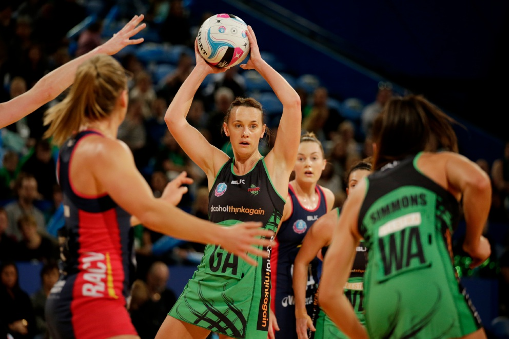 West Coast Fever's Natalie Medhurst.