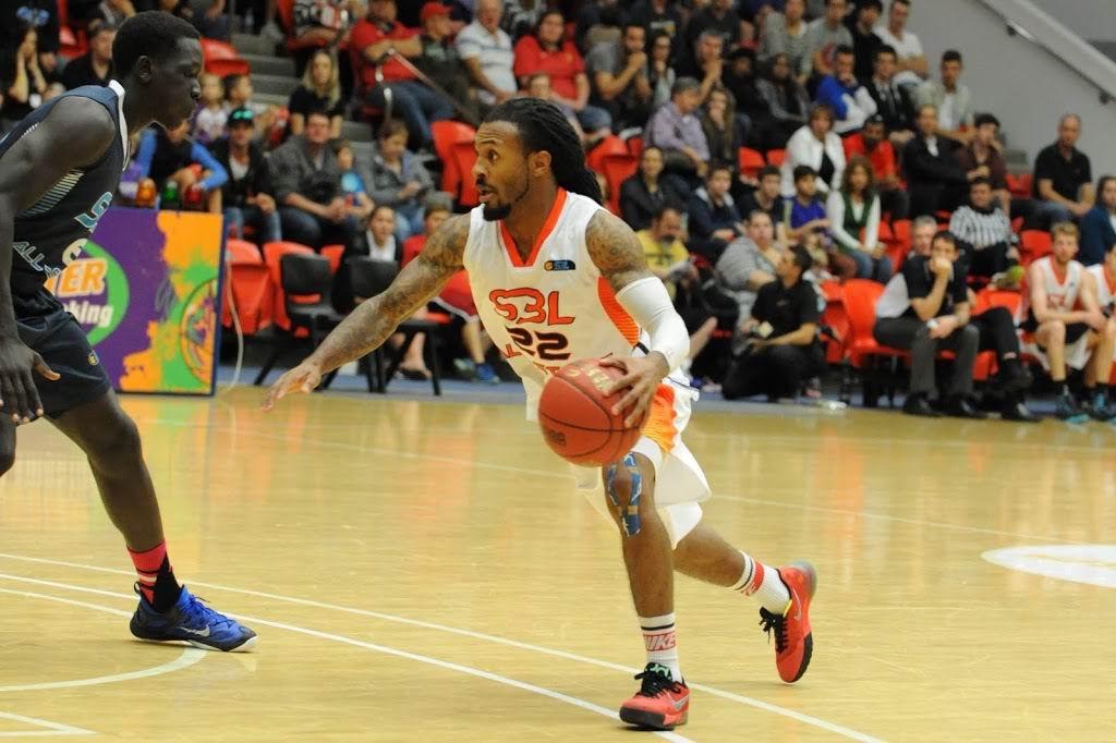 State Basketball League player Tre Nichols.