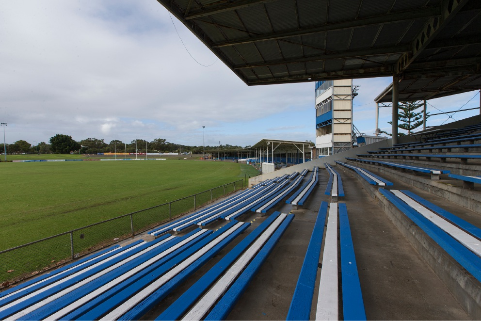 East Fremantle Oval.